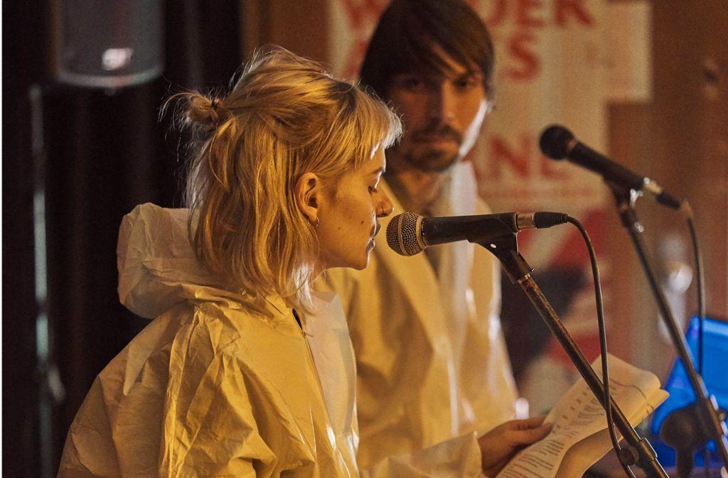 Die Schauspieler wollen gegen Vorurteile angehen. Foto: Ronny Schönebaum