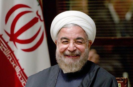 Ruhani freut sich über umgesetztes Atomabkommen