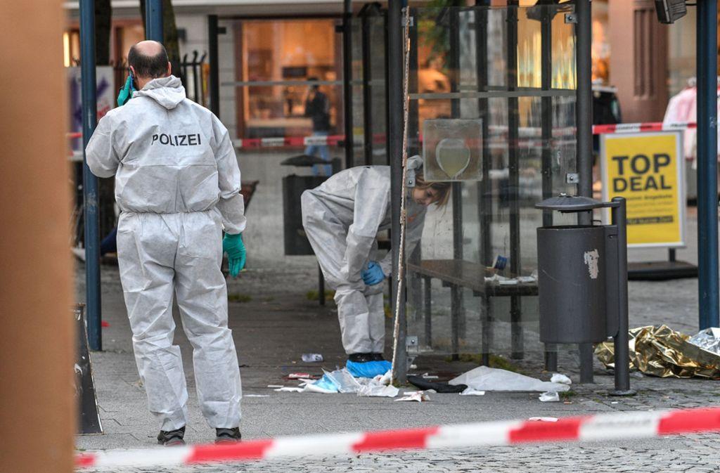 In der Ravensburger Innenstadt ist die Polizeipräsenz seit dem Messerangriff erhöht. Foto: dpa
