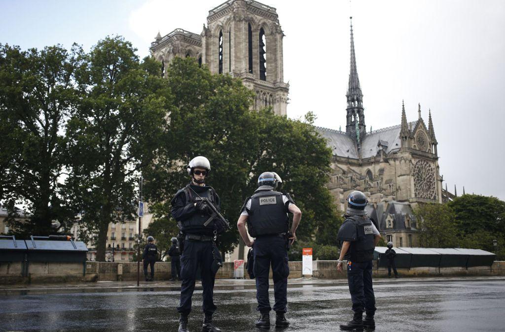 Immer mal wieder herrscht in Frankreich Terroralarm. Foto: AP
