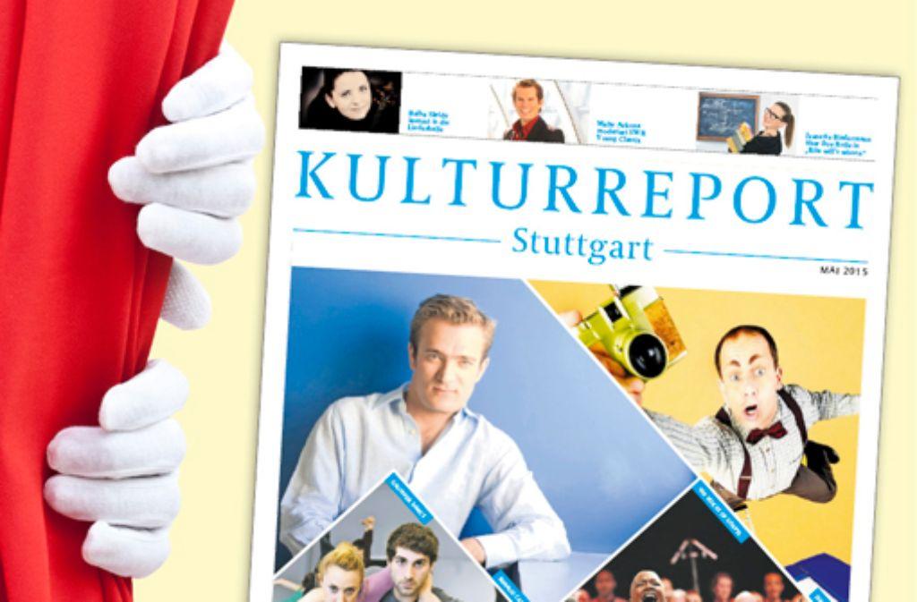 Der Kulturreport Stuttgart erscheint zum ersten Mal mit der Mai-Ausgabe. Foto: StZ