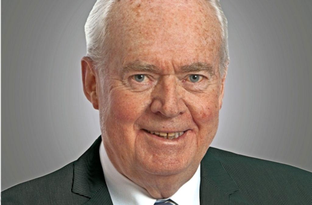 Wolfgang Frech galt  als herausragende Unternehmerpersönlichkeit. Foto: