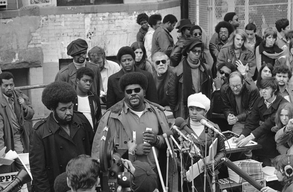 Black-Panthers-Gründungsmitglied Elbert Howard ist gestorben. Foto: AP