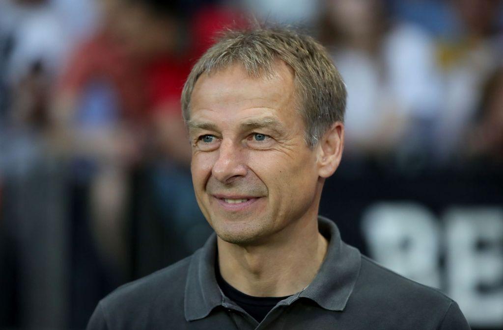 Jürgen Klinsmann nimmt sich beim VfB aus dem Rennen. Foto: Getty Images