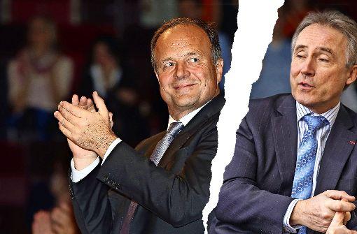 Zwei Alphatiere im offenen Machtkampf