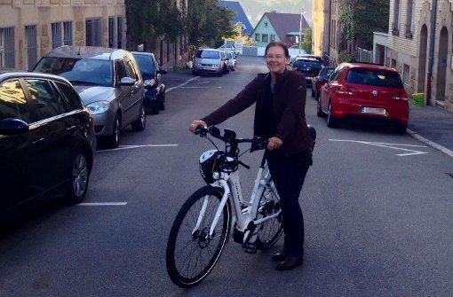 Christine Lehmann hat ein Herz für Fahrradfahrer