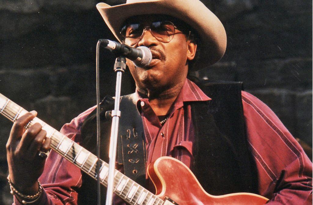 Otis Rush 1997 beim Bluesfestival von Notodden in Norwegen Foto: Svein Agnalt/CC BY-SA 3.0