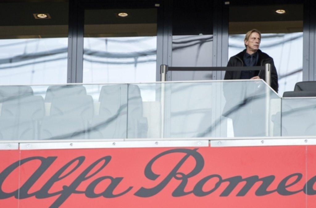 Zur Zeit ohne Festanstelllung als Trainer: Christoph Daum Foto: Getty Images