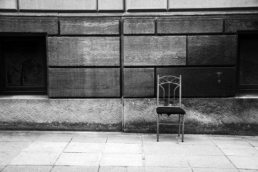 Die Fotografin Cana Yilmaz fotografiert den Kessel in Schwarz-Weiß.  Foto: Cana Yilmaz