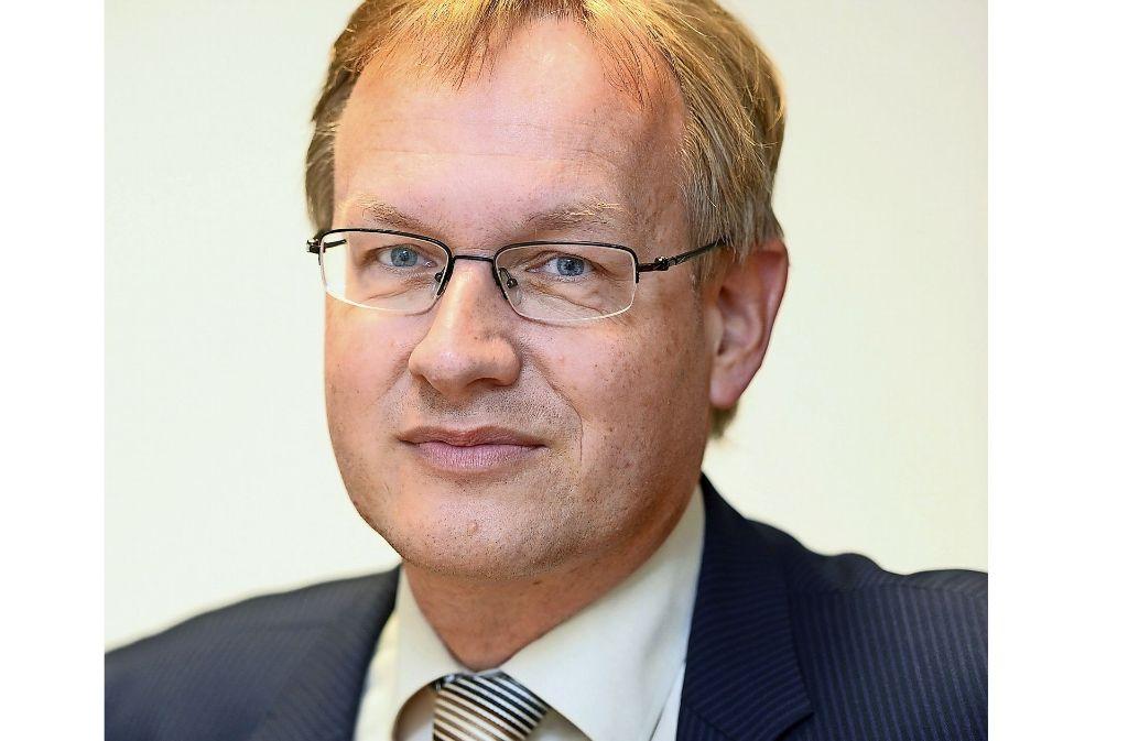 Johannes Schmalzl ist der einzige Kandidat für den Posten des Hauptgeschäftsführers bei der Industrie- und Handelskammer Region Stuttgart. Foto: dpa