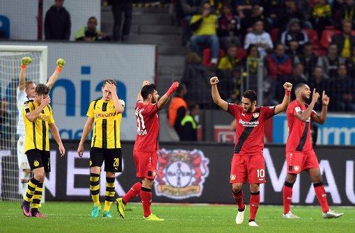 Dortmund lässt Chance ungenutzt - Bayer gewinnt