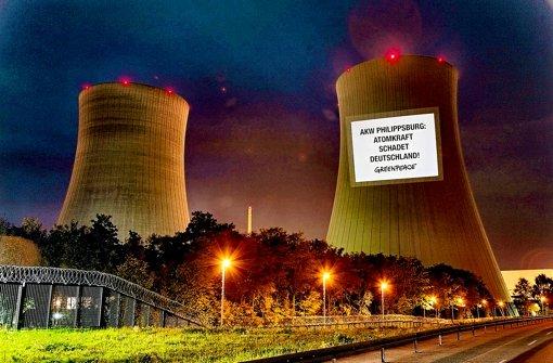 Wieder im Visier der Atomaufsicht: das Kernkraftwerk Philippsburg Foto: dpa
