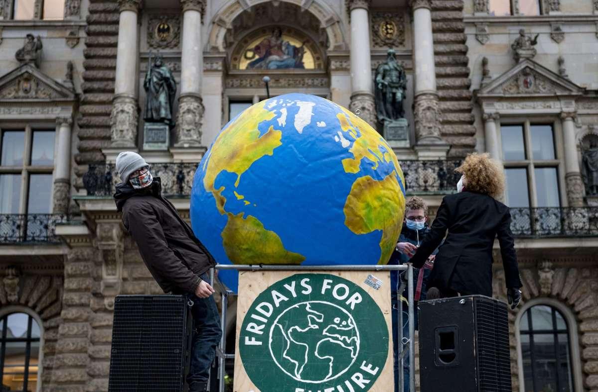 Fridays for Future plant im März einen weltweiten Protest. Foto: dpa/Axel Heimken
