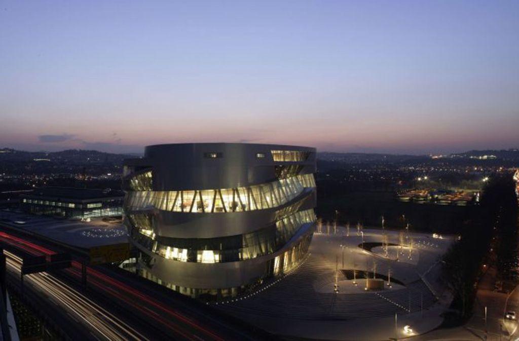 Die übermächtige Autoindustrie - hier das Daimler-Museum - ist in und um Stuttgart der Nabel der Innovation. Foto: Daimler AG