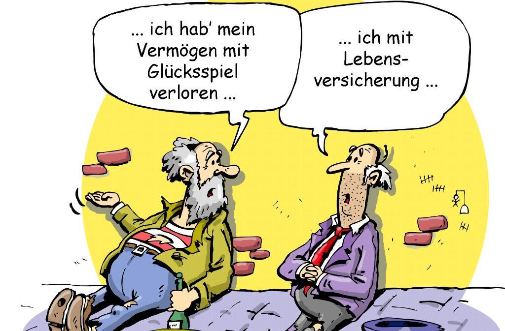 Wie sicher sind Lebensversicherungen?  Das fragen sich inzwischen viele Kunden. Foto: dieKLEINERT.de/Rudolf Schuppler
