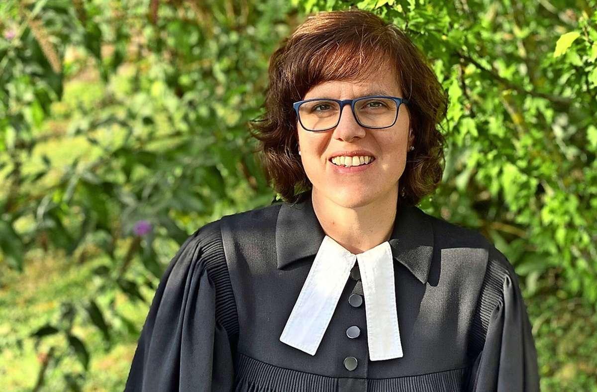 Anne Rahlenbeck hat ihre Stelle in der Filderklinik in Bonlanden mitten in der Pandemie begonnen. Foto: privat