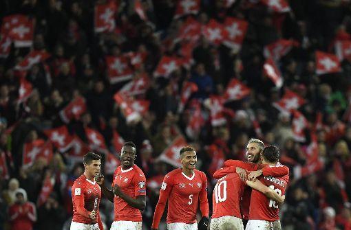 Schweiz reicht 0:0 gegen Nordirland