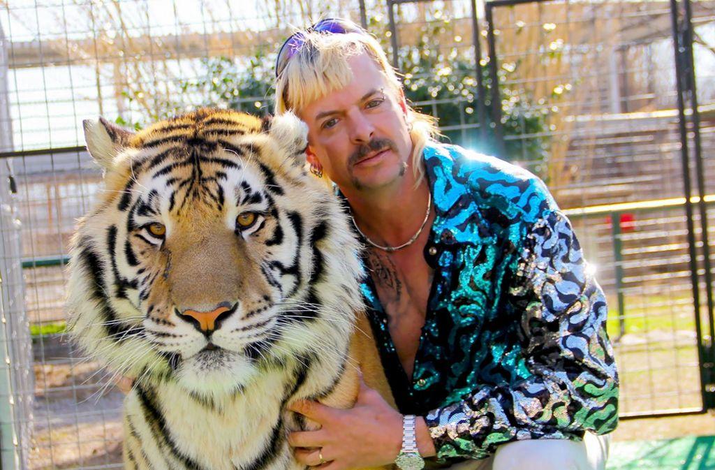 """Die True-Crime-Serie """"Tiger King"""" ist derzeit äußerst beliebt bei Netflix. Foto: AFP"""