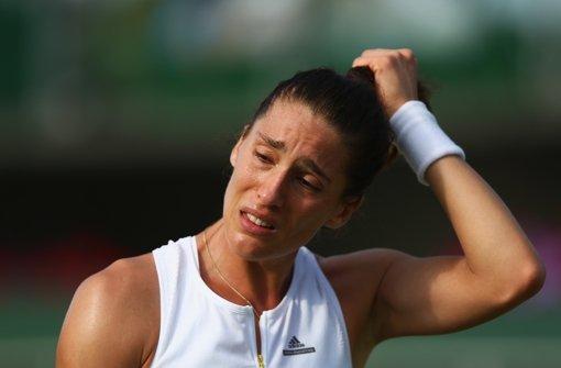 Petkovic weint bittere Tränen