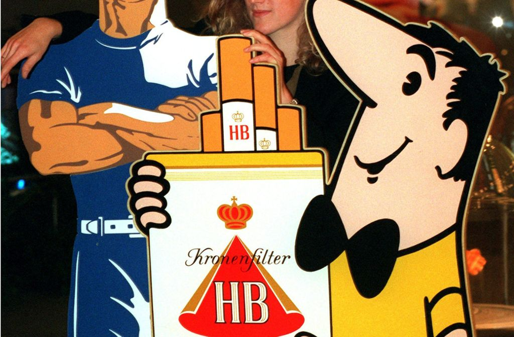 """Das """"HB-Männchen"""" war eines der Werbeikonen der Nachkriegszeit in Westdeutschland. Foto: dpa"""