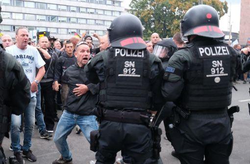 Bürger setzen Zeichen gegen Rechtsextreme