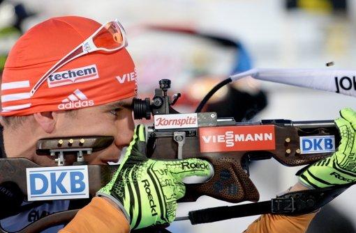 Auch Biathlon-Männer mit Gold