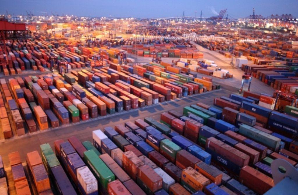 """Güter """"Made im Ländle"""" sind vielerorts in der Welt weniger gefragt. Foto: AP"""