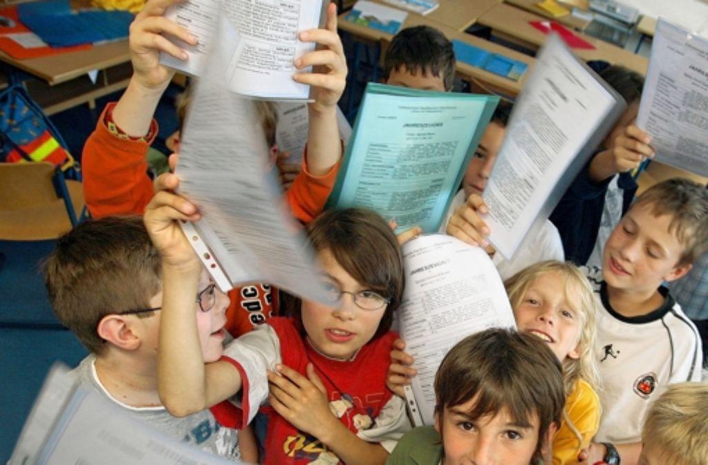 Kinder sollen gern zur Schule Foto: dpa