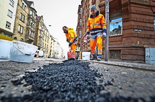 Die Witterung macht den Straßen zu schaffen