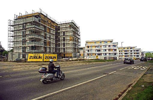 Stadt  hat Platz für 24000 Wohnungen