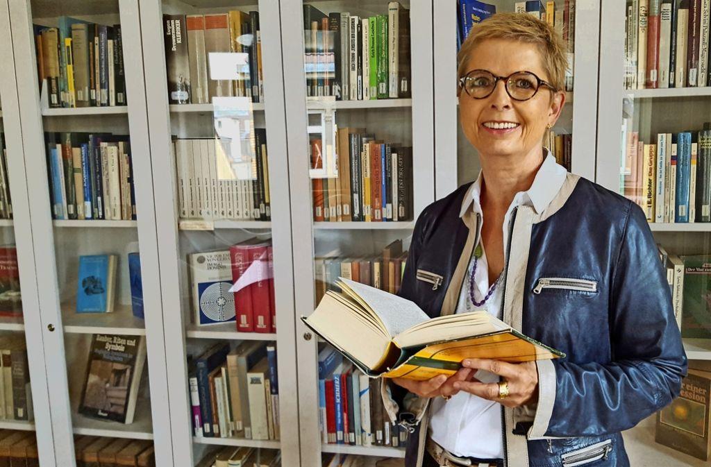 Elisabeth Kauder hat sich in Stuttgart in einer eigenen Praxis als Psychoanalytikerin niedergelassen. Foto: Schiermeyer