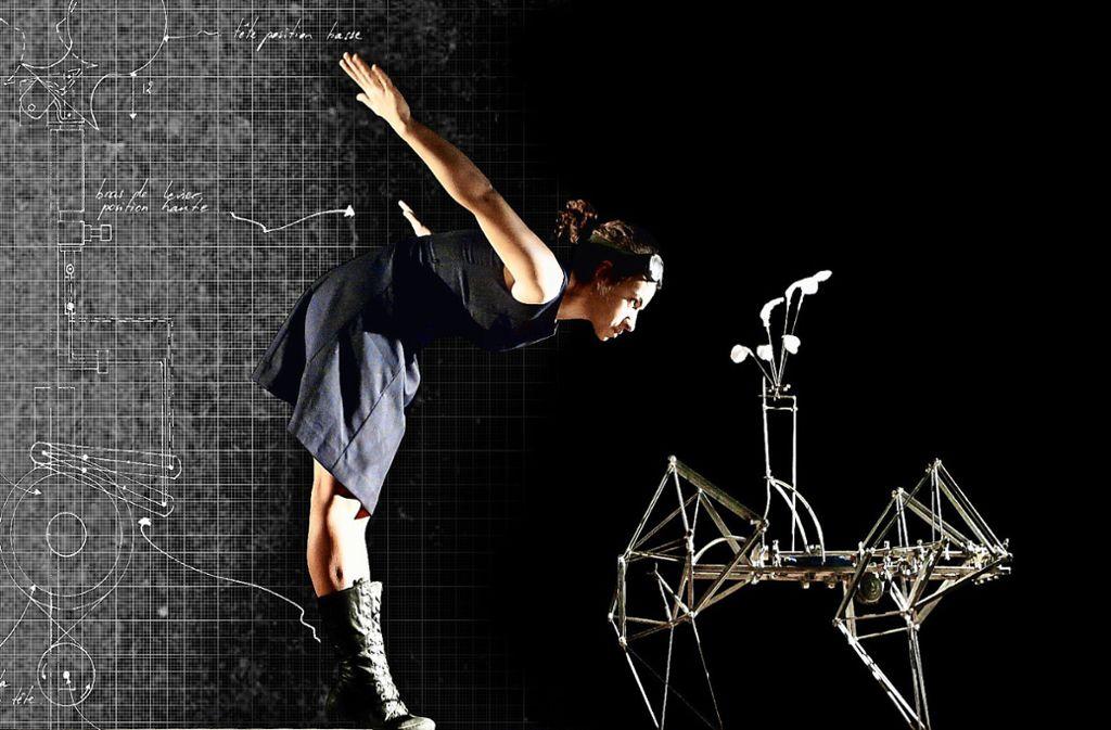"Szene aus dem Stück ""Le brasse de l'air"" Foto: Julien Joubert"