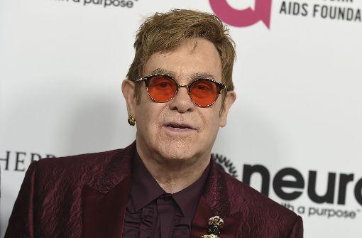 Elton John sagt Konzerte ab