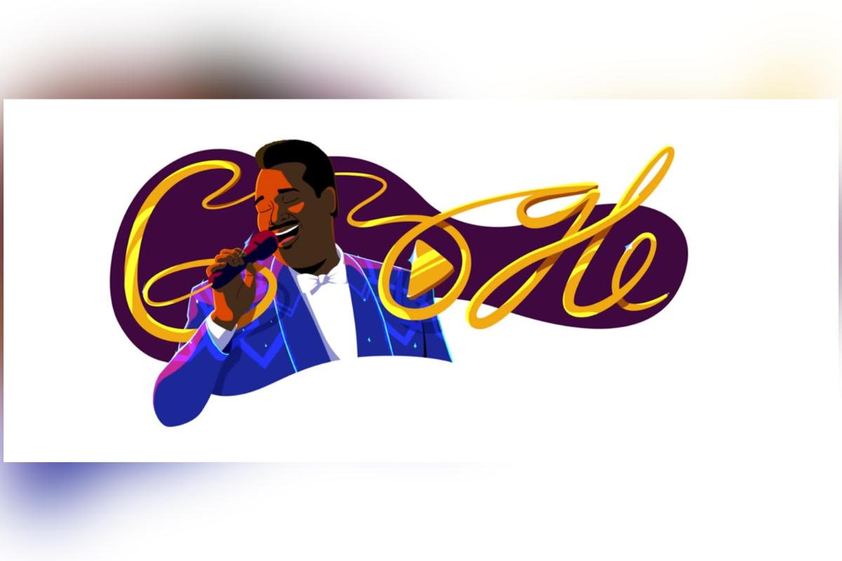 Dem Soulmusiker Vandross ist ein Video-Doodle gewidmet. Foto: google.com/doodles/luther-vandrosss-70th-birthday