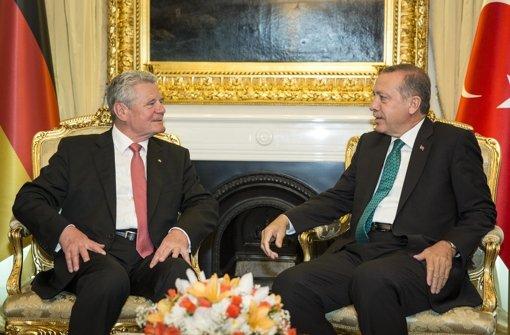 Türkei will Bundespräsident Gauck nicht verzeihen