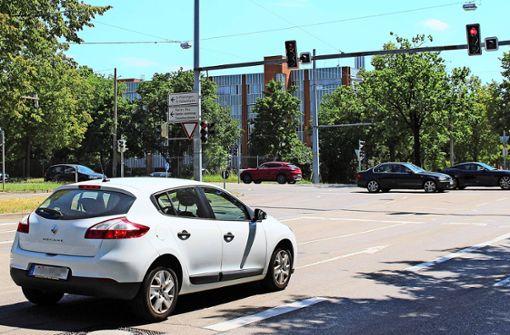 Versinkt die Landhauskreuzung im Verkehr?