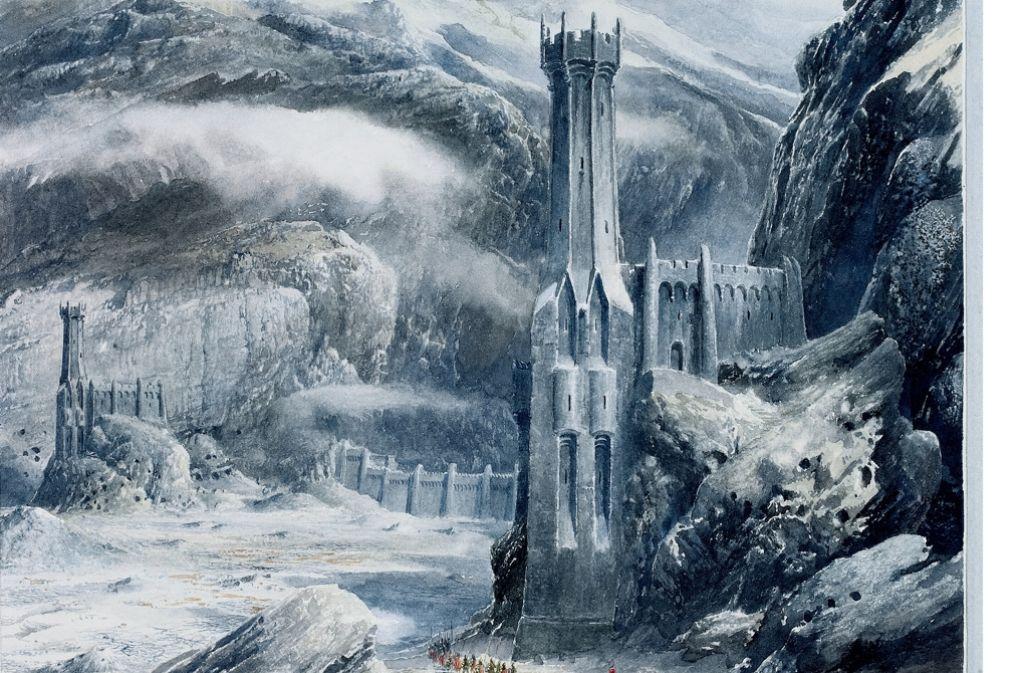 Alan Lee hat die Tolkien-Bücher illustriert – auch dafür gibt es in Stuttgart nun einen Preis. Foto: