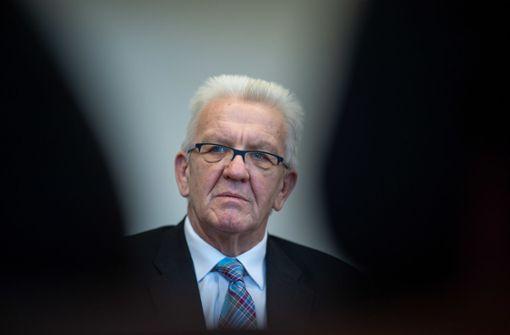 Kretschmann äußert sich zur Spitzenkandidatur 2021