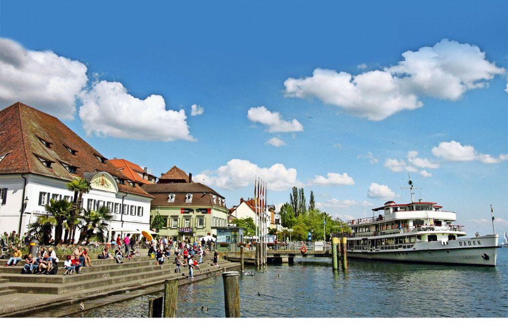 In Überlingen wird für Bauland direkt am See mehr als 4000 Euro pro Quadratmeter bezahlt. Das ist sogar teurer als in Stuttgart. Foto: dpa