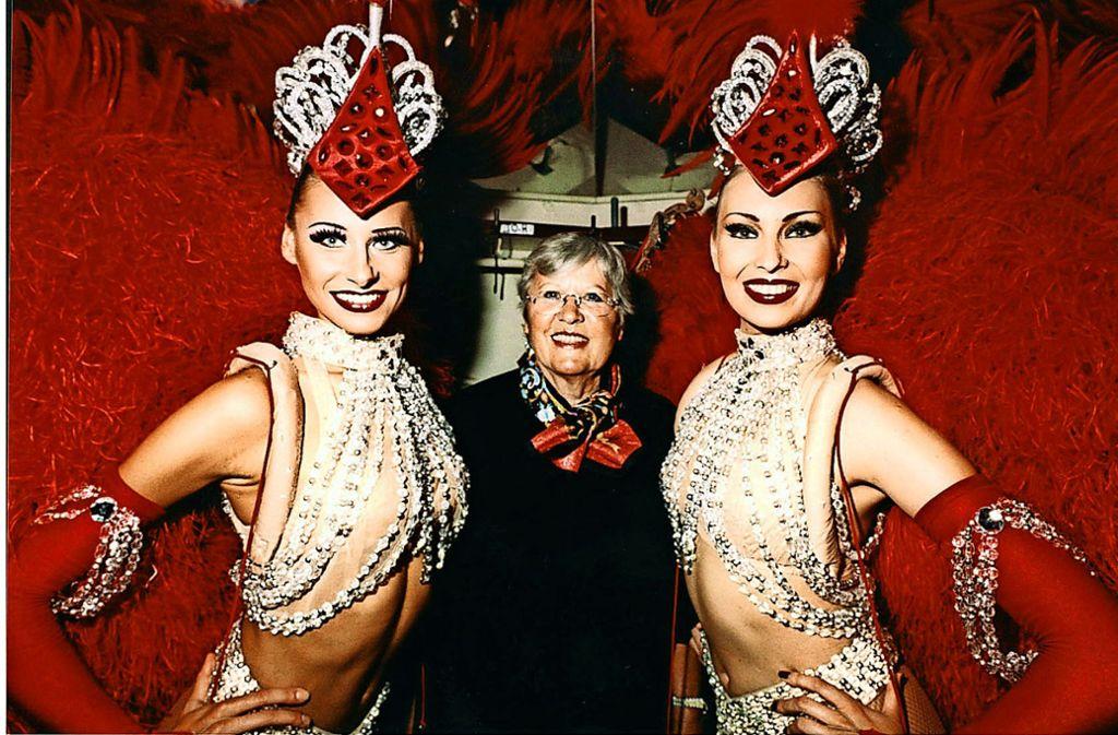 Doris Haug, die in Stuttgart geborene Ballettmeisterin des Moulin Rouge von Paris, scharte die besten Tänzerinnen um sich: 2014 ist sie gestorben und bis heute unvergessen. Foto: dpa