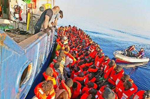 Auch Flüchtlingsrettern droht Gefahr