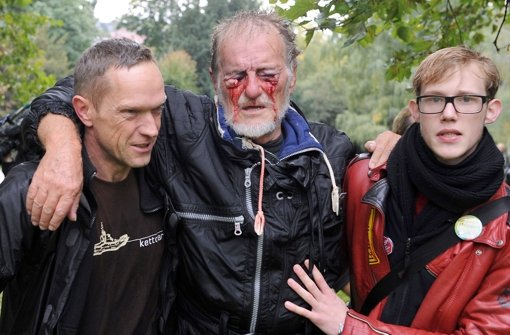 Das Bild von Dietrich Wagner hat die Polizei für eine Fälschung gehalten. Foto: dpa
