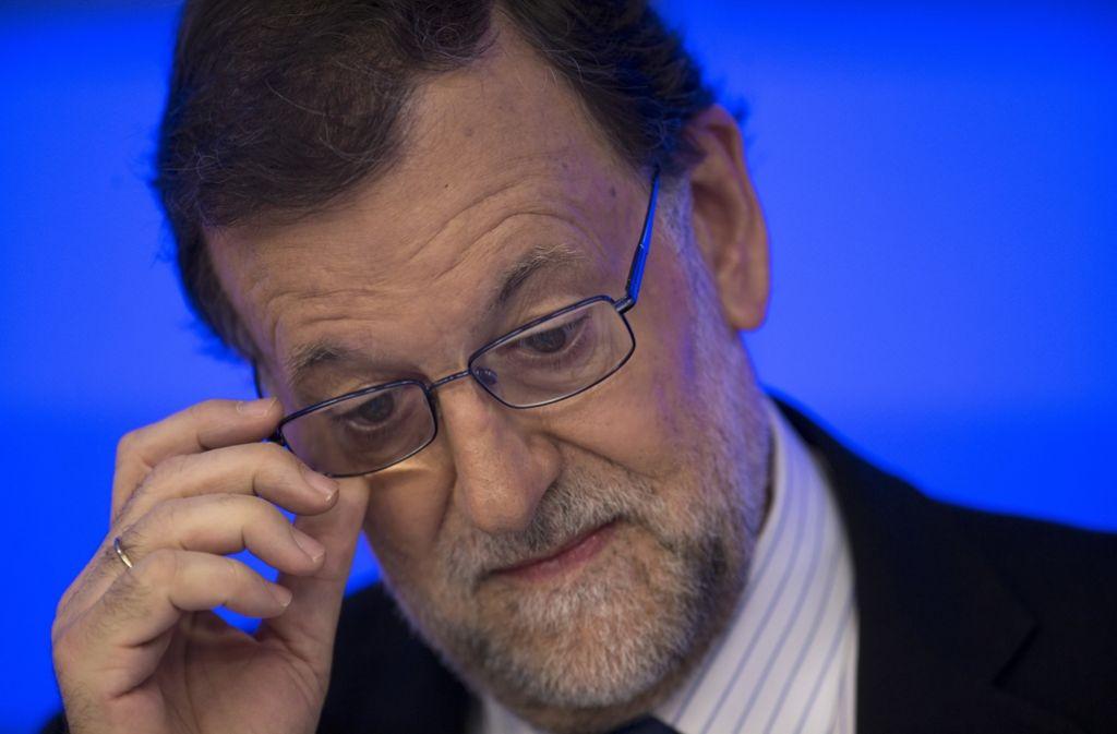 Premier Mariano Rajoy würde gerne wieder eine Regierung bilden – aber mit wem? Foto: AP