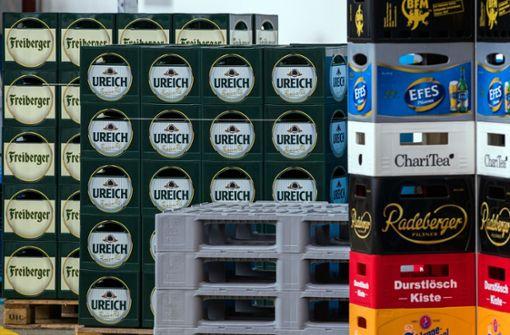 Klau von Getränkekisten im Wert von mehreren Hundert Euro