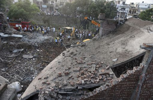 16 Tote bei Explosion  in Feuerwerksfabrik