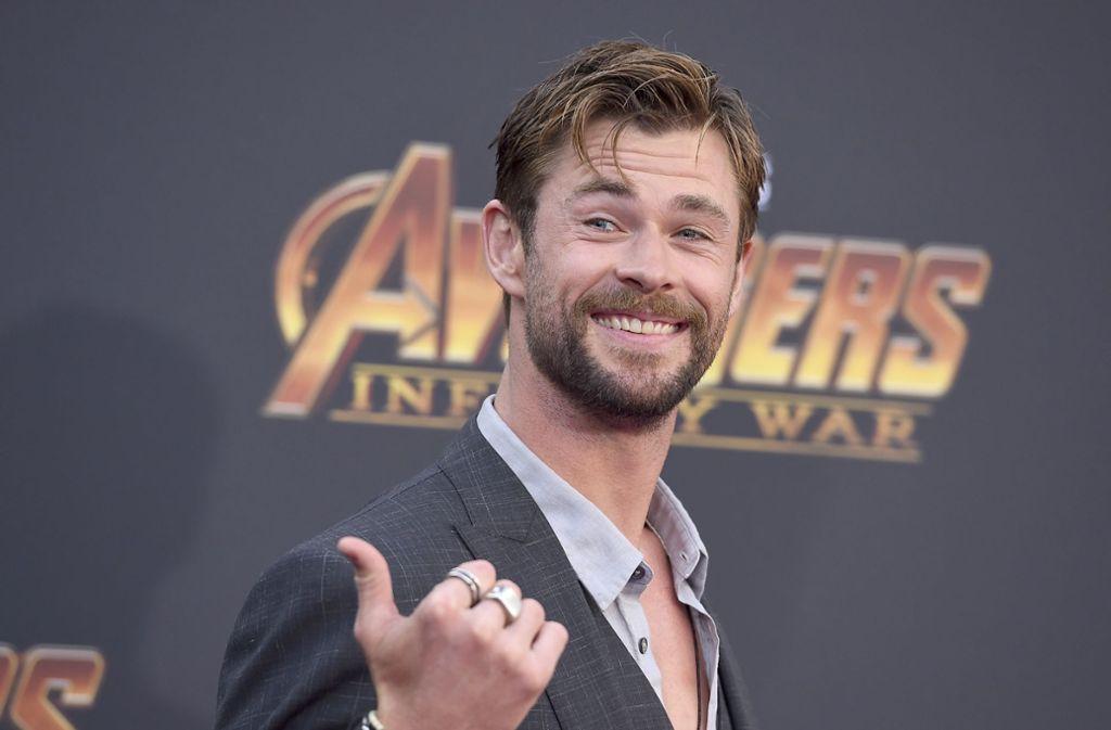 Chris Hemsworth spielt Thor. Foto: Invision