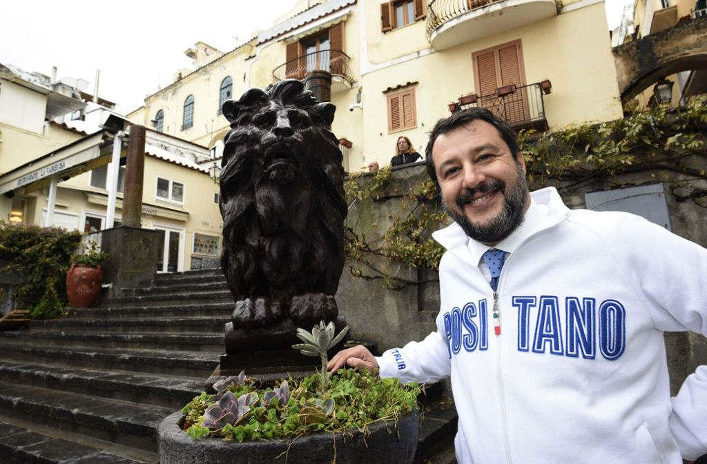 Lega-Chef und Ex-Innenminister Matteo Salvini. Foto: dpa/Stefano Cavicchi