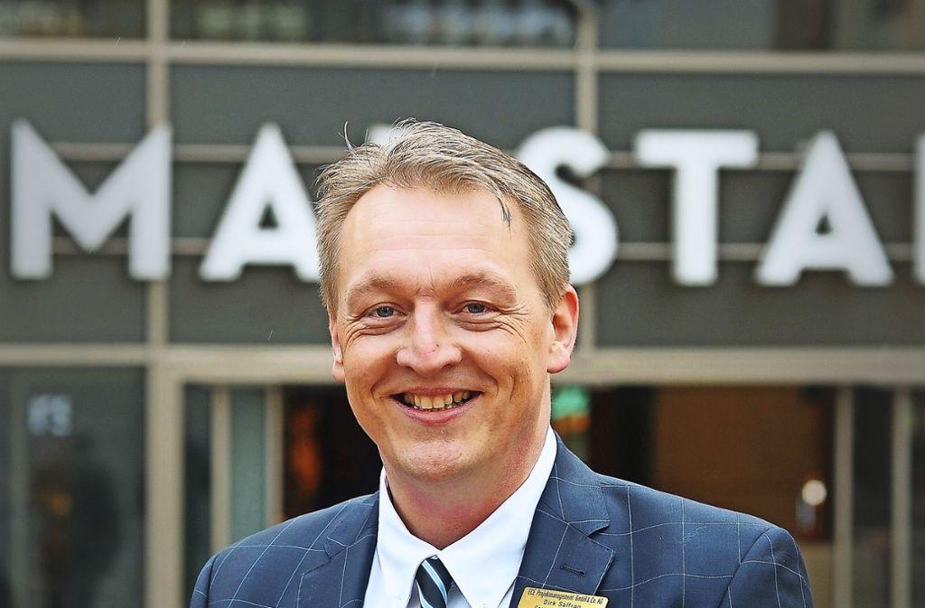 Dirk Saffran leitet  seit Donnerstag das Ludwigsburger Marstall-Center. Foto: privat