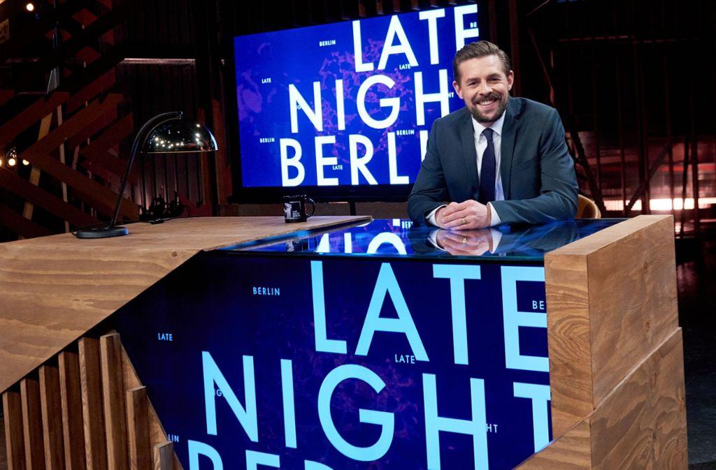 """Klaas Heufer-Umlauf präsentiert seit dieser Woche """"Late Night Berlin"""" auf ProSieben. Foto: dpa"""