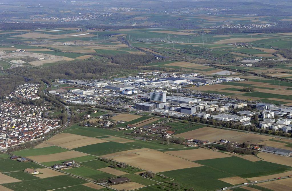 Die Firma Porsche möchte in nächster Nachbarschaft zu Bosch in Schwieberdingen bauen. Foto: